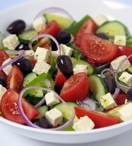 Authentic Greek Style Salad